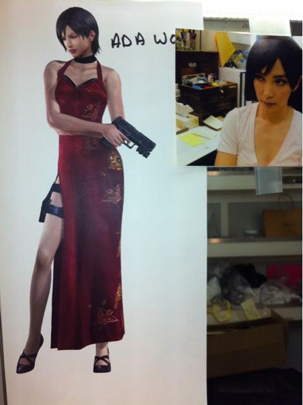 Resident Evil 5 set pic