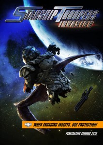 Starship Troopers Invasion poster