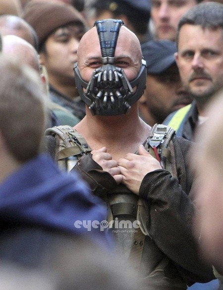 Dark Knight Rises set pic NY