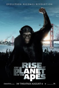 Rise of the Planets of the Apes - Movie Poster