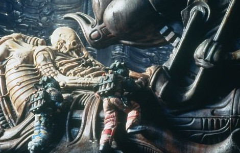 Space jockey from Alien pic