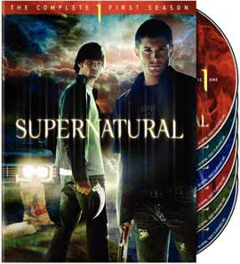 Supernatural Temporada 1 y 2 Supernatural-dvd