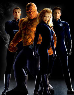 Fantastic Four Movie -- trailer