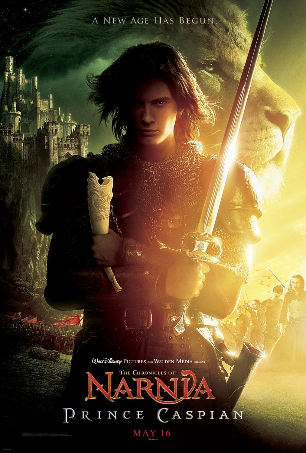 THE       CHRONICLES OF NARNIA: PRINCE CASPIAN - PREVIEW