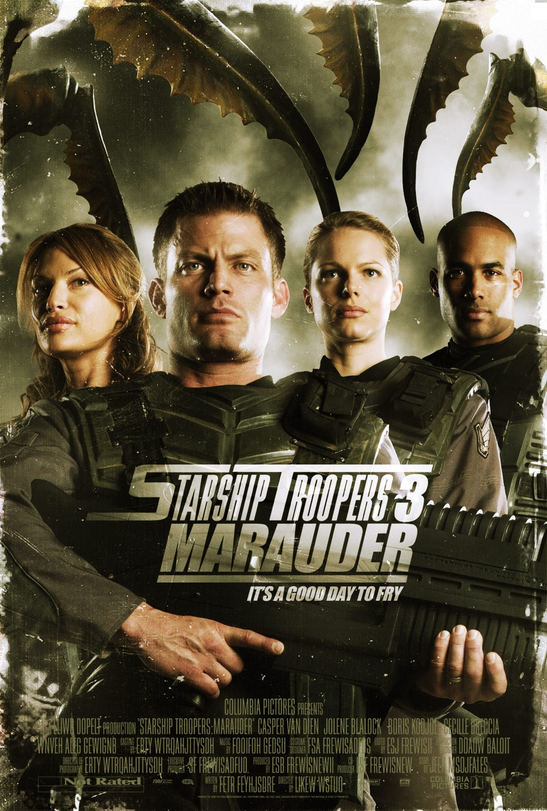 starship troopers Stranded on a distant outpost, a small group of the federation's finest will fight the battle of their lives because this time the bugs aren't just invading a planet, they're infiltrating the federation itself.