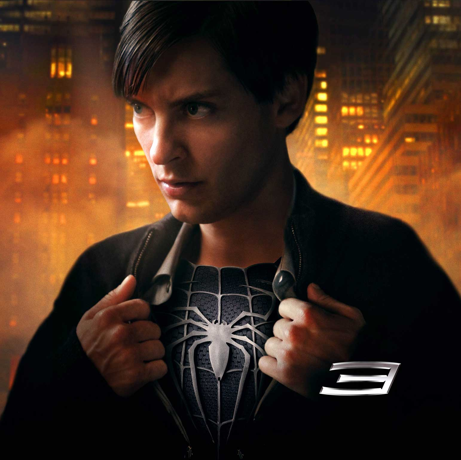 Tobey maguire black spiderman - photo#16