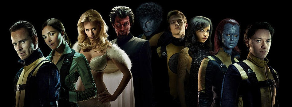 The Cast of X-Men - First Class