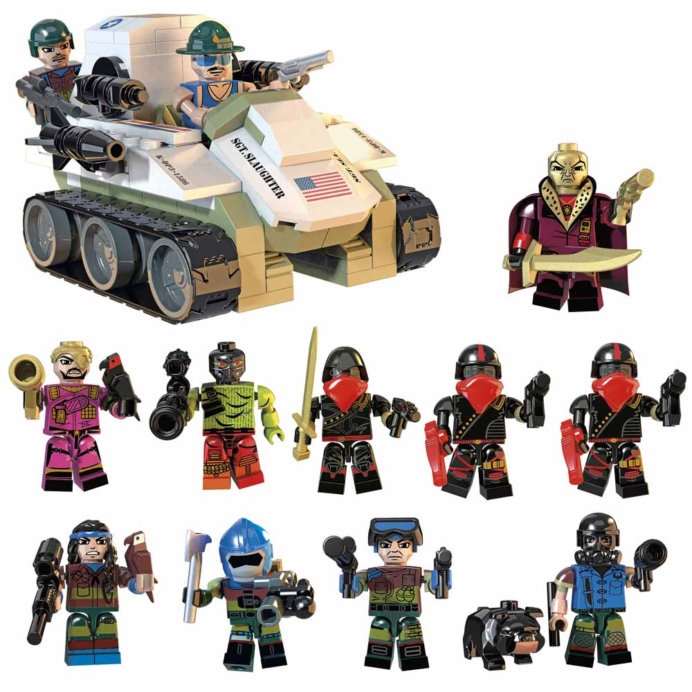 KRE-O GI JOE SLAUGHTER'S MARAUDERS VS DESTRO'S IRON GRENADIERS Set