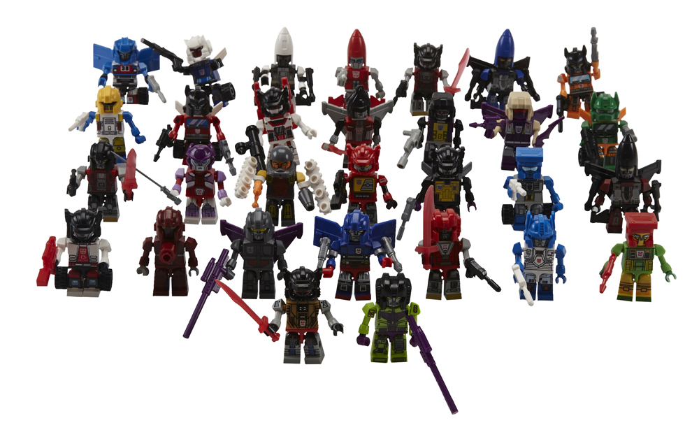 KRE-O TRANSFORMERS KREON CLASS OF 1985 30-Pack