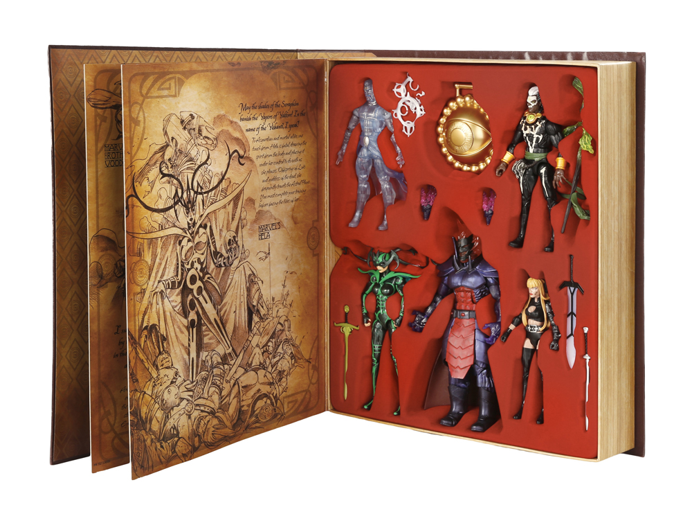 MARVEL'S DR. STRANGE — BOOK OF VISHANTI MARVEL LEGENDS Action Figure Pack