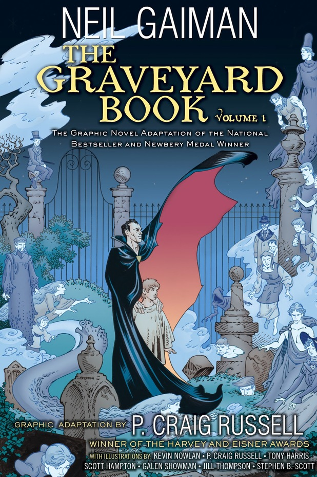 The Graveyard Book Volume 1 Book Review