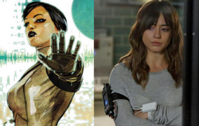 Chloe Bennett Gets New Look for Agents of S.H.I.E.L.D. Season Three