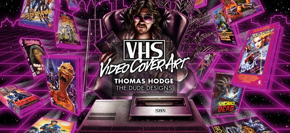 VHS Video Cover Art Book Review