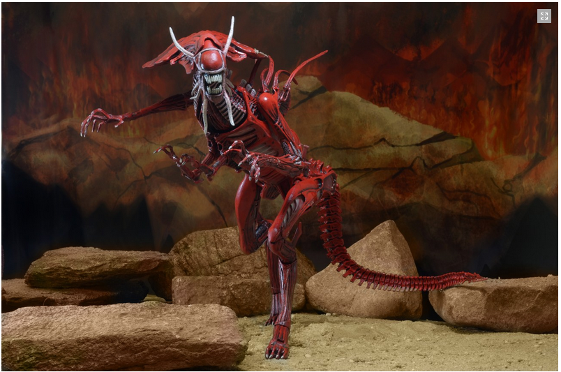 NECA's Aliens Genocide Red Queen Mother Action Figure | Sci-Fi Movie