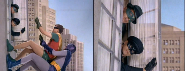 The Green Hornet (Van Williams) and Kato (Bruce Lee)