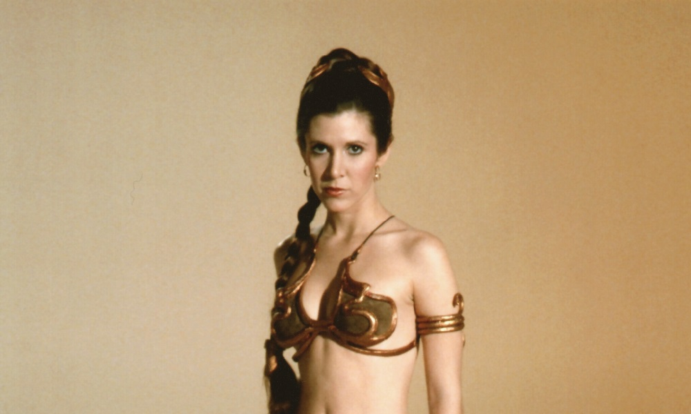 Talk this Princess leia slave girl sex can