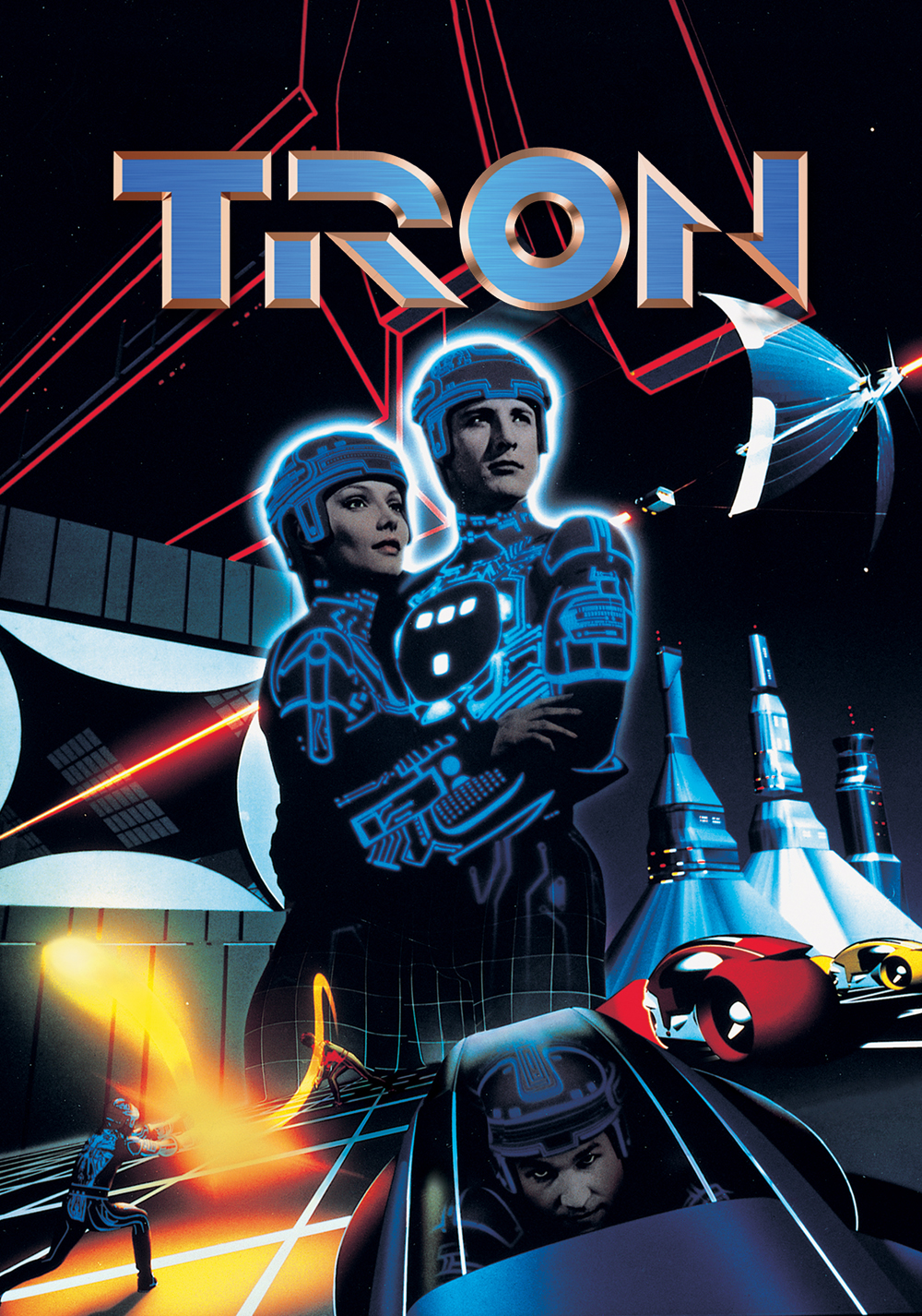 Tron_Textless_Poster