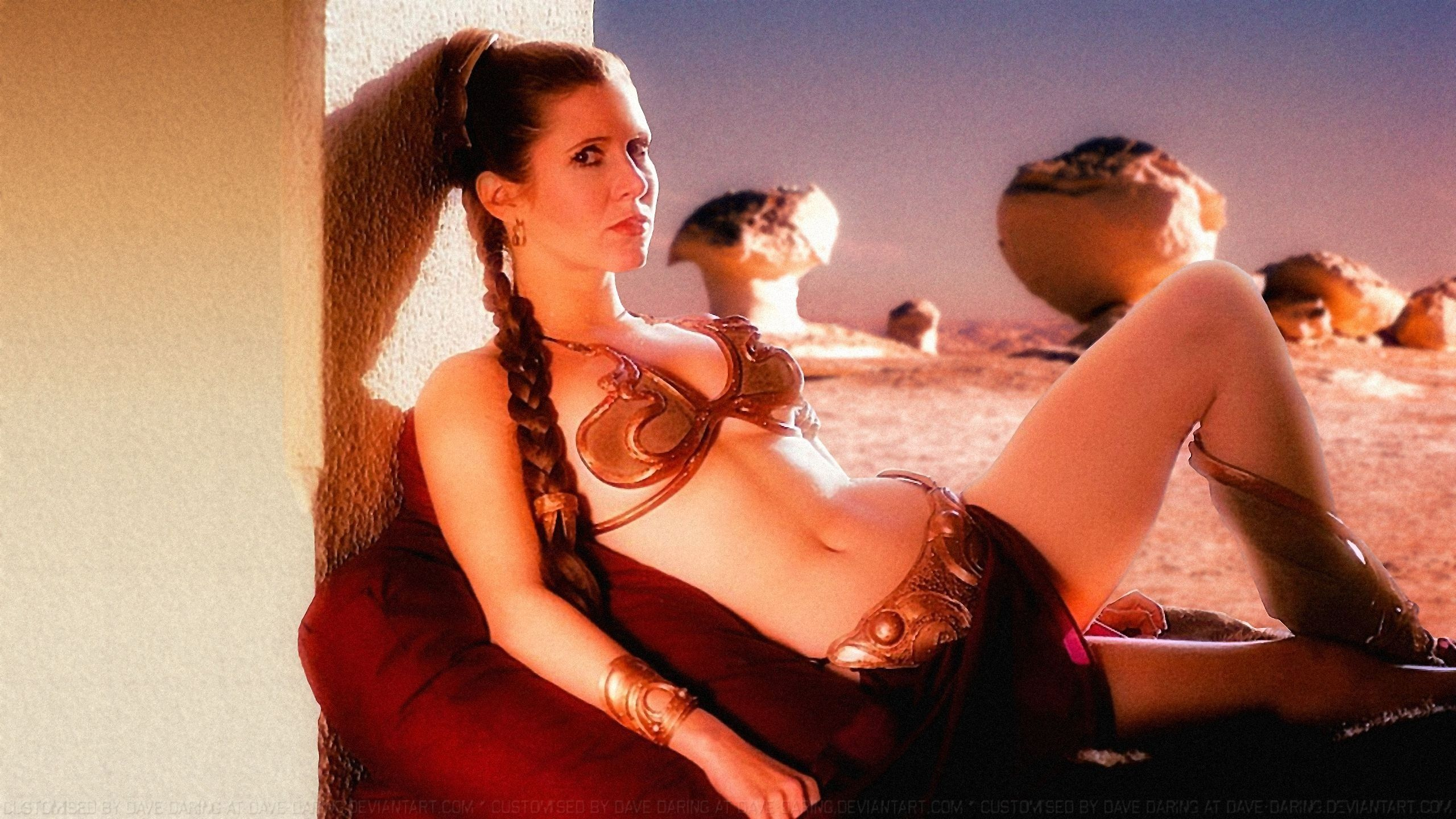 Princess leia sexy wallpapers naked picture