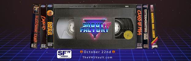 Shout! Factory Streaming VHS