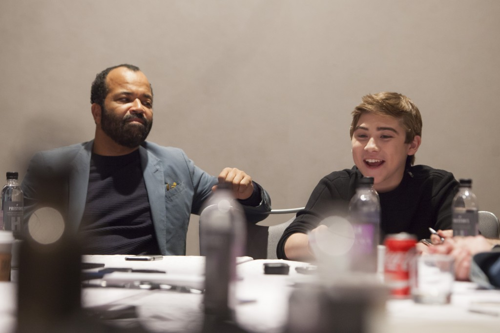 Interview: Jeffrey Wright and Raymond Ochoa