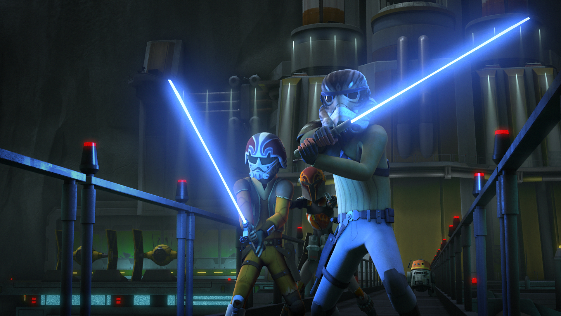 Star Wars Rebels The Call Clip And Images Sci Fi Movie Page