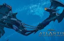 SCI-FI NERD: Animation Wednesday - Atlantis The Lost Empire (2001): Unique Epic Adventure From Disney