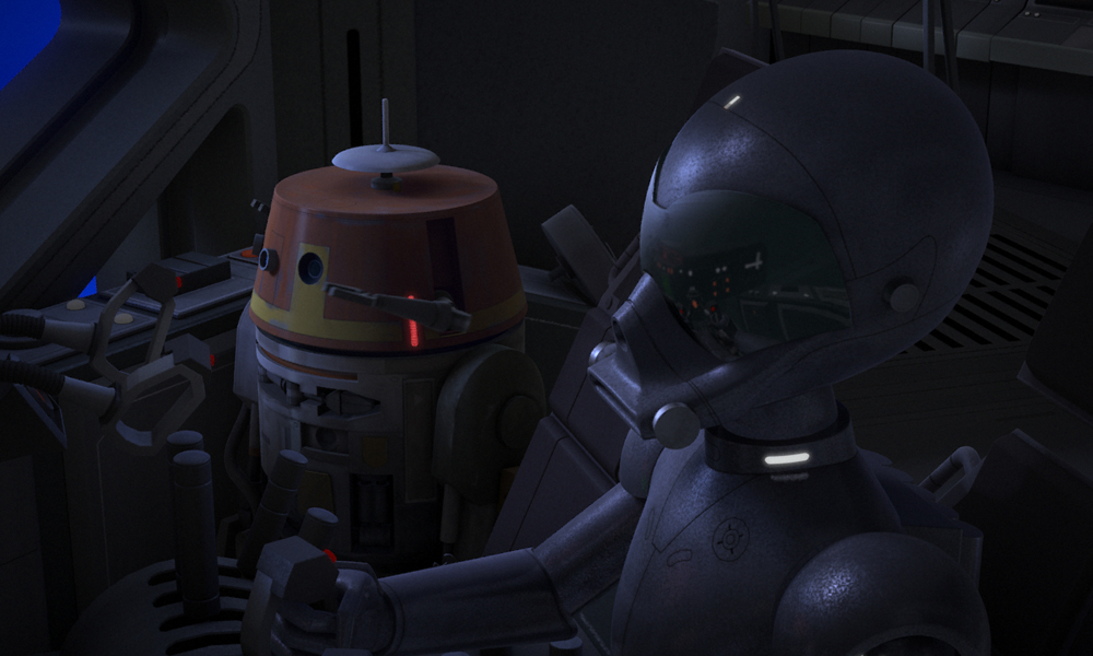 Star Wars, Star Wars Rebels: The Forgotten Droid