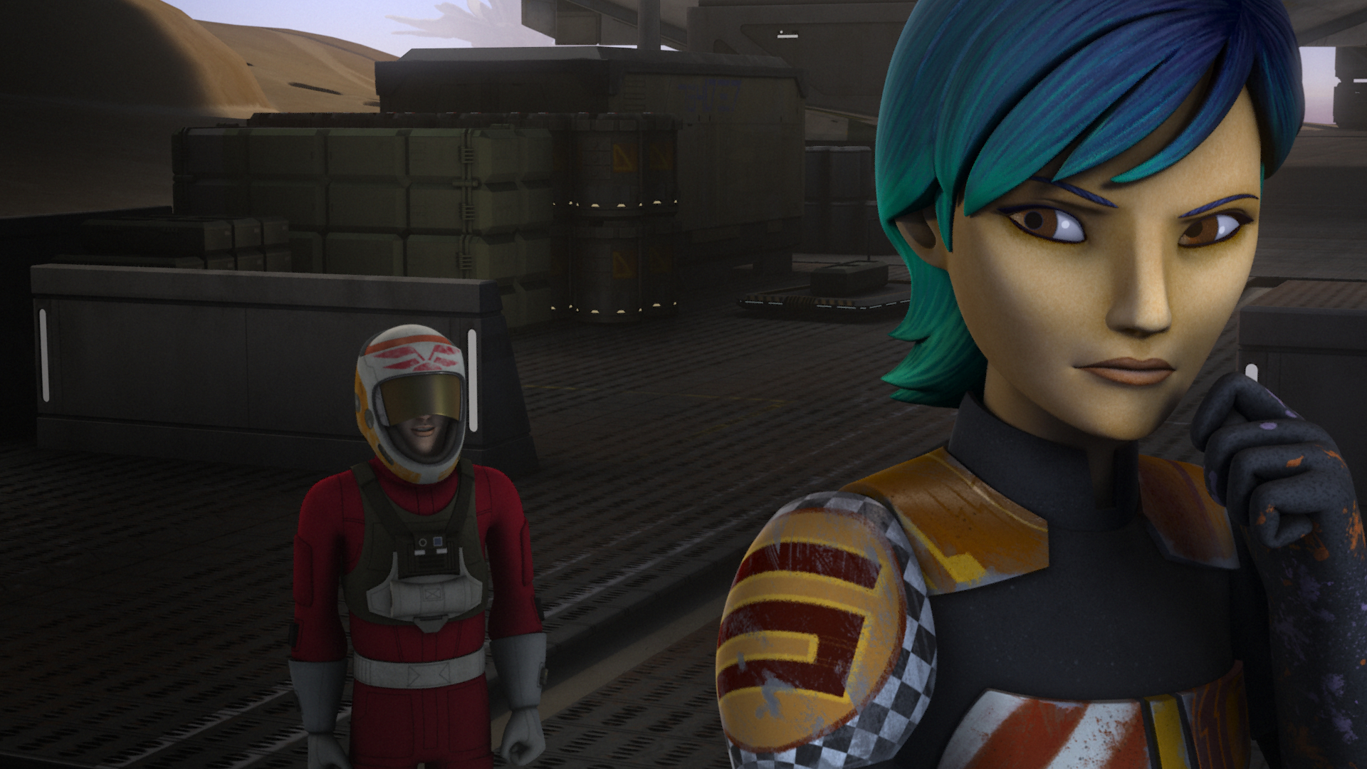 Star Wars Rebels The Mystery Of Chopper Base New Clip And Images Sci Fi Movie Page