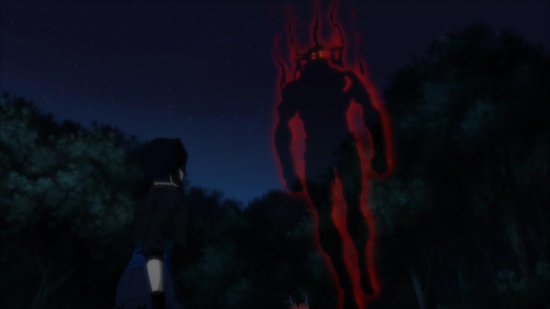 Justice League vs. Teen Titans: Trigon Appears to Raven ... Pacific Rim Blu Ray Cover