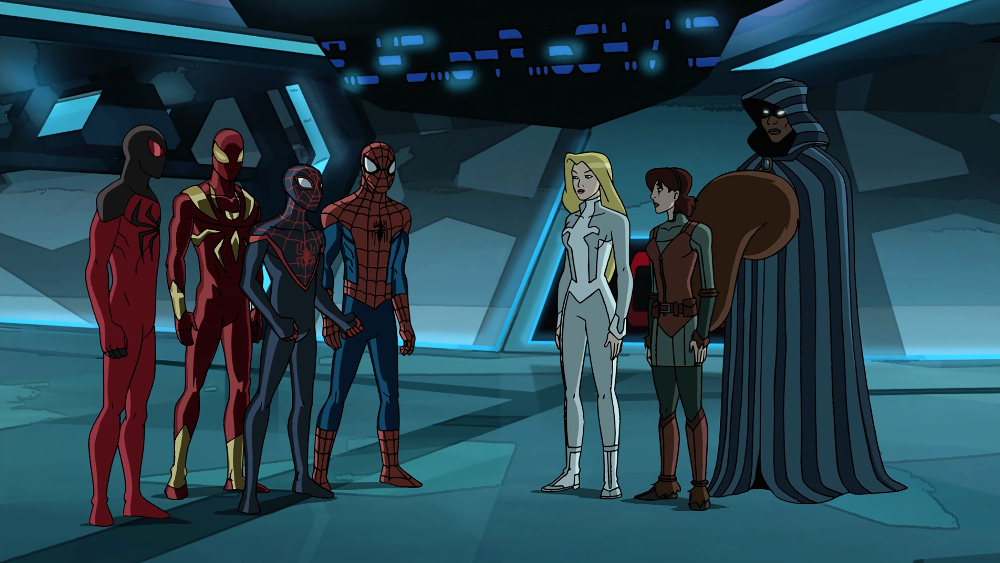 SCARLET SPIDER, IRON SPIDER, MILES MORALES, SPIDER-MAN, DAGGER, SQUIRREL GIRL, CLOAK