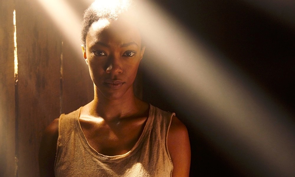 Sonequa Martin-Green as Sasha - The Walking Dead _ Season 5, Gallery - Photo Credit: Frank Ockenfels 3/AMC