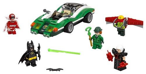 LEGO - The Riddler Riddle Racer