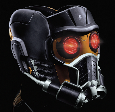 MARVEL LEGENDS SERIES STAR-LORD ELECTRONIC HELMET (2)