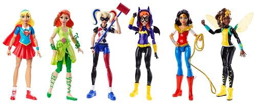 Mattel_6 in DCSHG Action Dolls