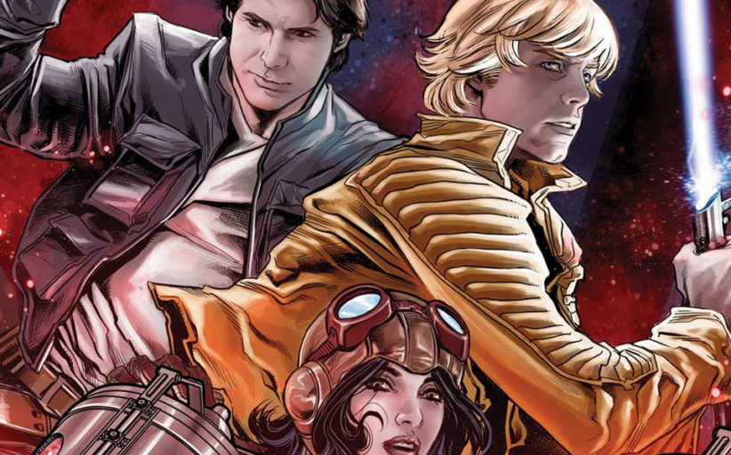 STAR WARS: THE SCREAMING CITADEL – A New 5 Part Crossover Starts in May!