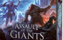 Assault of the Giants boardgame now available from Wizkids!