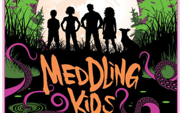 Meddling Kids Book Cover : Sci fi movie page for all your science fiction