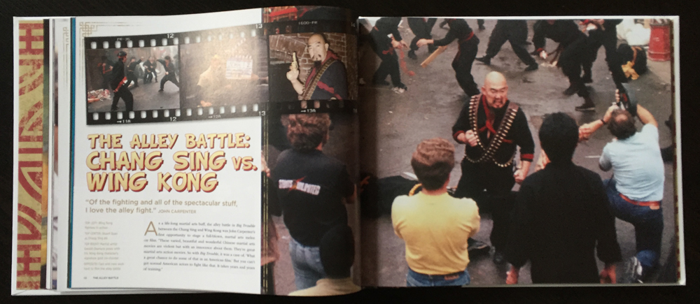 The Official Making Of Big Trouble In Little China Book