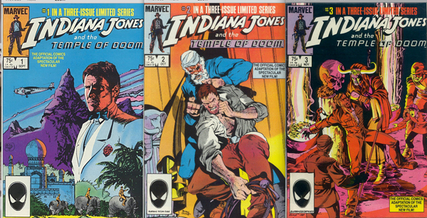 Indiana Jones and the Temple of Doom - The Marvel Comic