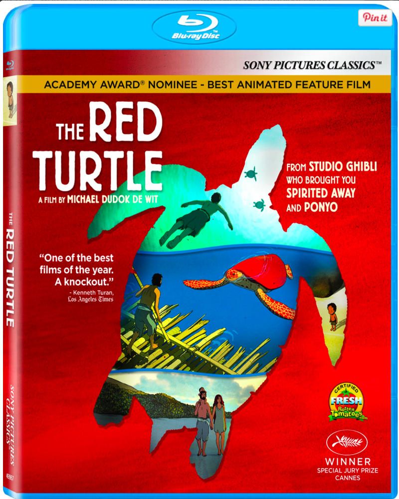 Red Turtle Bluray