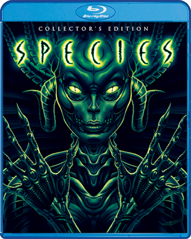 SPECIES Collector's Edition 2-Disc Blu-ray set