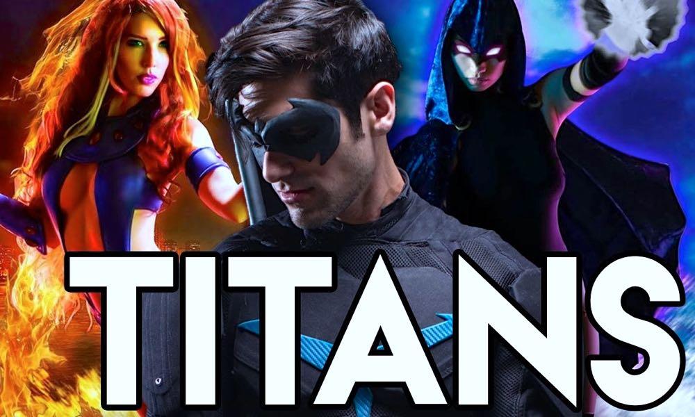 Teen titans movie casting