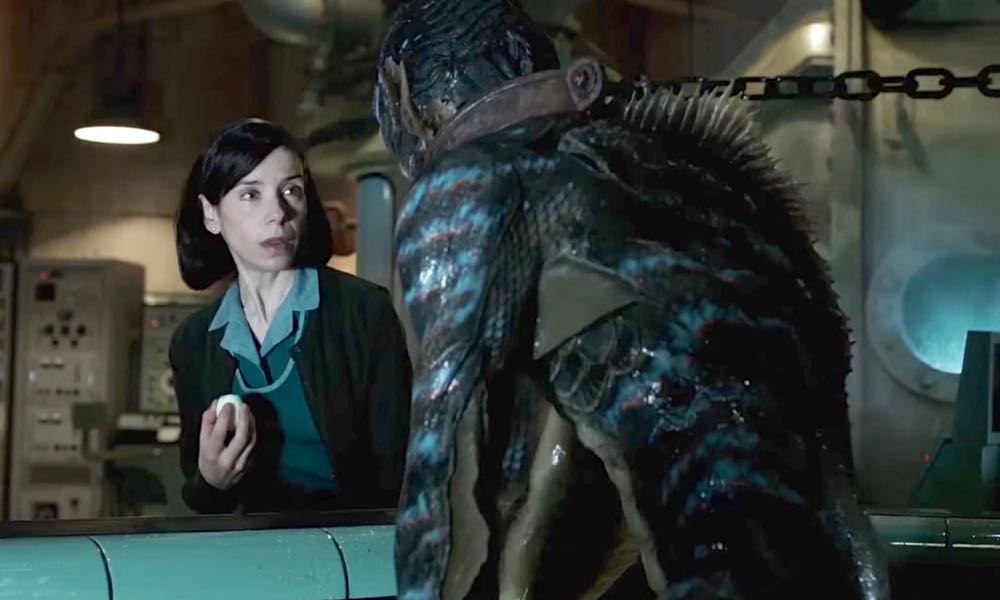 The Shape Of Water:  A New Trailer Spoils the Film's Plot