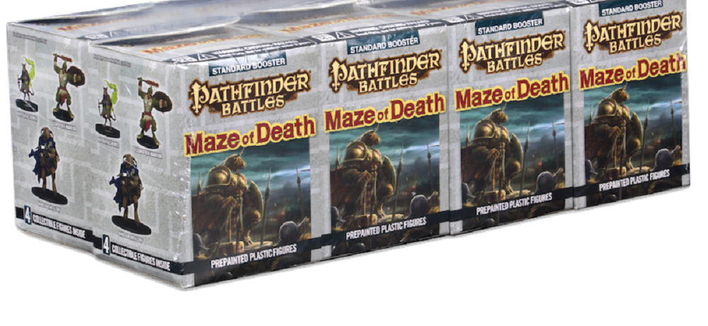 Wizkids announces Pathfinder: Maze of Death figures
