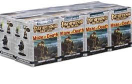 Wizkids announces Pathfinder: Maze of Death figures