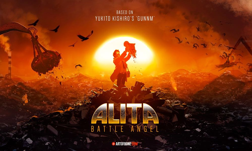 Alita Battle Angel: The First Trailer Is Here