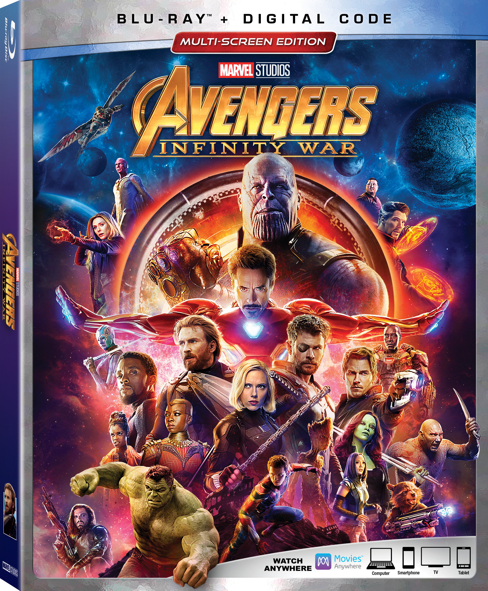 Avengers: Infinity War Blu-Ray review | Sci-Fi Movie Page