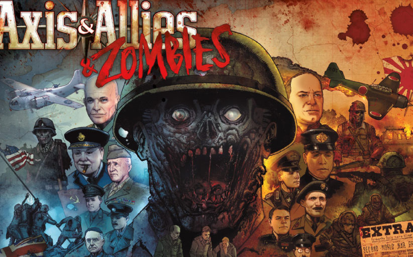 Axis & Allies & Zombies now available! (Avalon Hill)