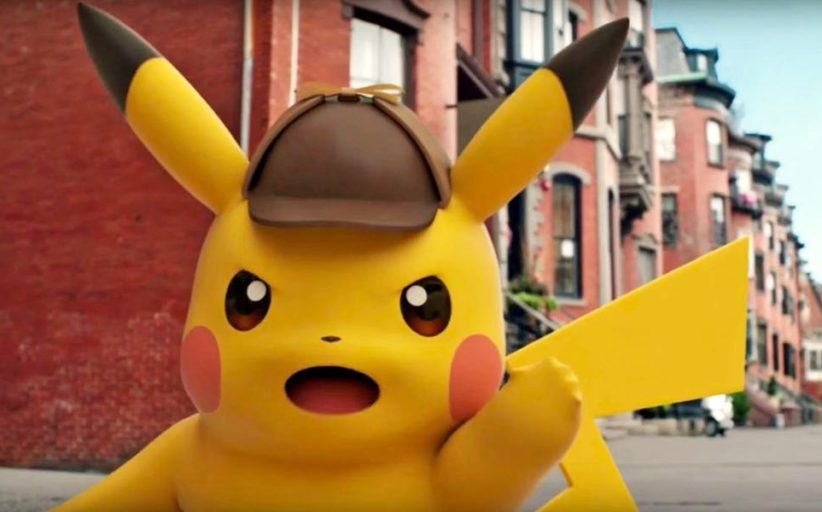 Detective Pikachu: Trailer #1 - Get your First Look At The Live-Action Pokemon World