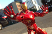 Marvel Select Iron Man MK50 figure available at Disney Stores